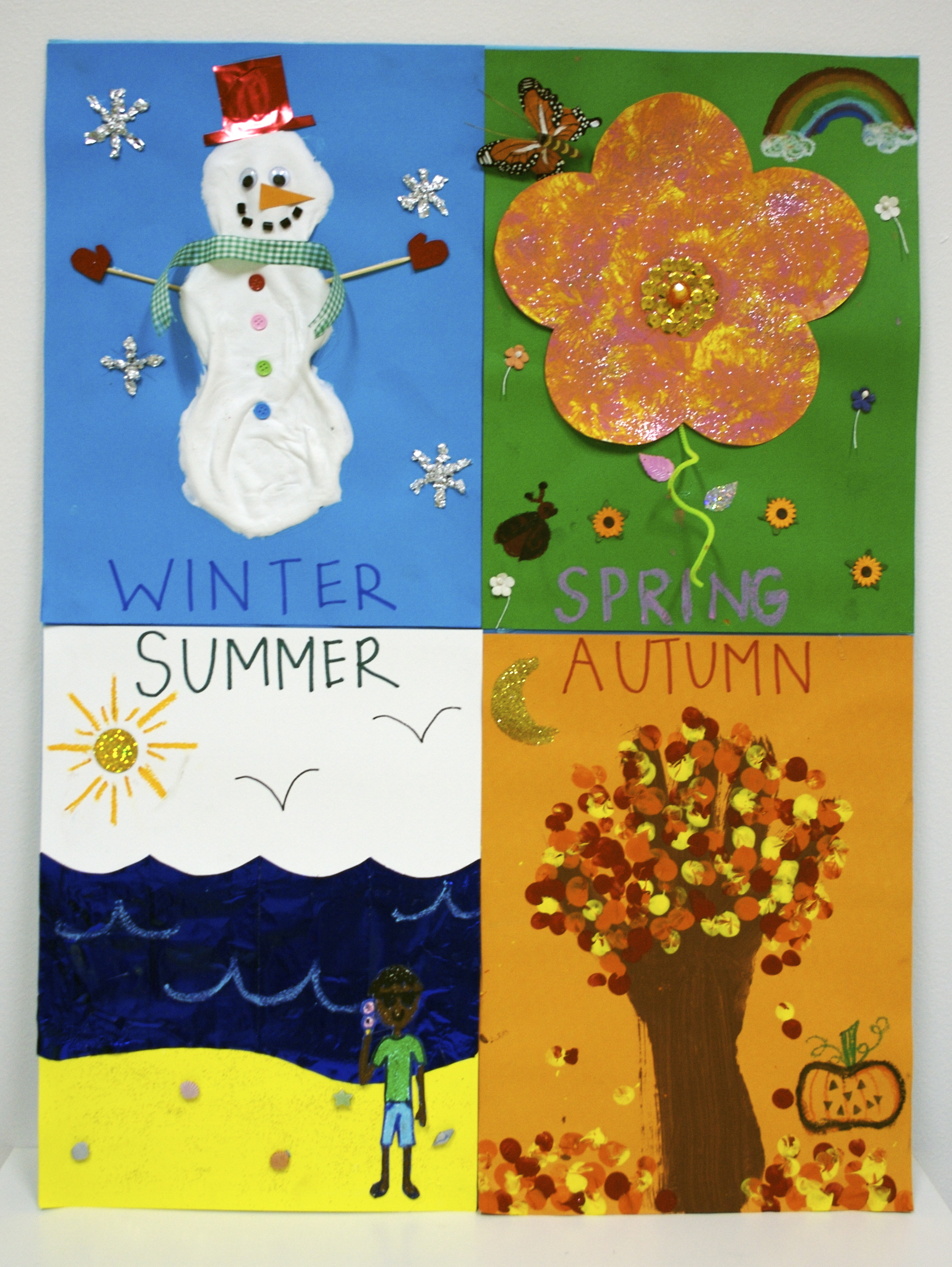 Seasons Poster: Winter | CC's Crafts